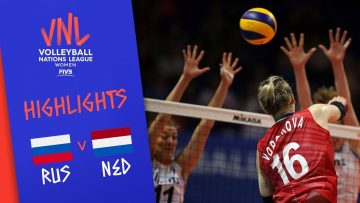 RUSSIA vs. NETHERLANDS – Highlights Women | Week 5 | Volleyball Nations League 2019