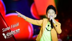 ชาดำ – ยิ้มก็พอ – Semi Final – The Voice Kids Thailand – 24 June 2019