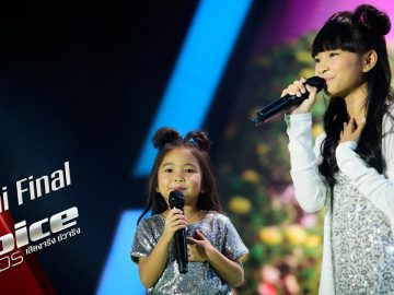 มณี&มินา – What A Wonderful World – Semi Final – The Voice Kids Thailand – 24 June 2019