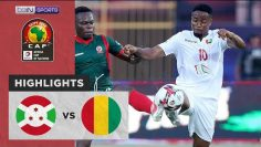 Burundi 0-2 Guinea | AFCON Match Highlights