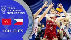 CHINA vs. CZECH REPUBLIC – Highlights Women | Volleyball Olympic Qualification 2019