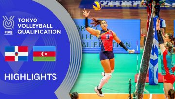 DOMINICAN REPUBLIC vs. AZERBAIJAN – Highlights Women | Volleyball Olympic Qualification 2019