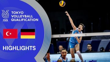 TURKEY vs. GERMANY – Highlights Women | Volleyball Olympic Qualification 2019